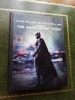 Batman The Dark Knight Rises Digipack Blu Ray Libro