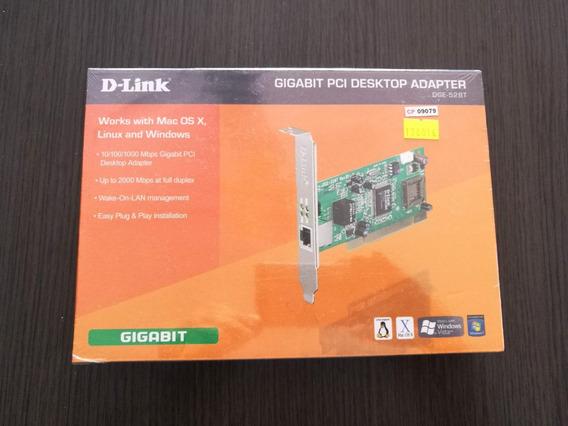 Placa De Red Pci D-link Ethernet 10/100/1000 Dge-528t Rev.b1