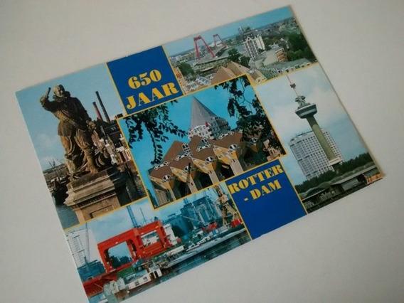 Tarjeta Postal Foto Roterdam Holanda Sin Uso Decada 90