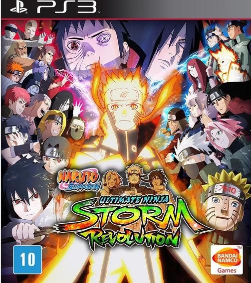 Naruto Shippuden Ninja Storm Revolution Ps3 Por Pendrive