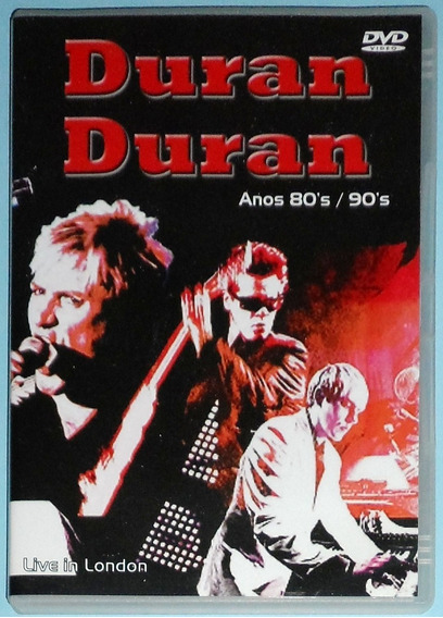 Duran Duran Dvd Live In London 2004 Com Extras Anos 80 90