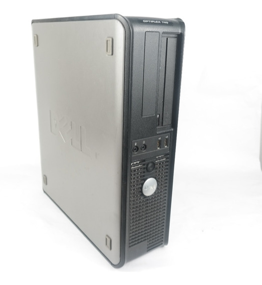Cpu Dell Optiplex 745 Intel 3.40ghz 2gb Hd 80gb Win 7 Oferta