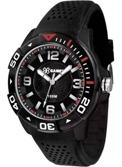Relógio Masculino X Games Puls Silicone 100m Xmpp0020-p2px