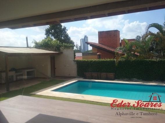 Casa Com 5 Suítes E 600m² À Venda Na Região De Alphaville - Es584
