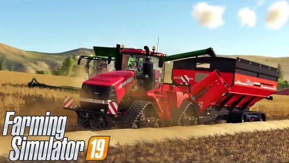 Farming Simulator 19 + 2 Jogos Pc - Dvd Frete Grátis