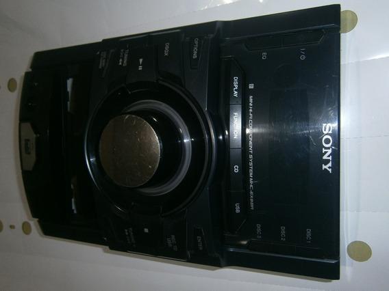 Painel Do Som Sony Mhc-ex8br Mais Carcaça Usado 100% Ok