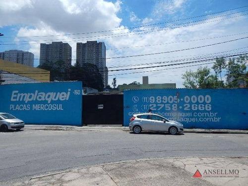 Imagem 1 de 30 de Terreno Para Alugar, 1475 M² Por R$ 12.000,00/mês - Ferrazópolis - São Bernardo Do Campo/sp - Te0127