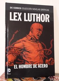 Lex Luthor El Hombre De Acero Novelas Dc Salvat Vol. 22