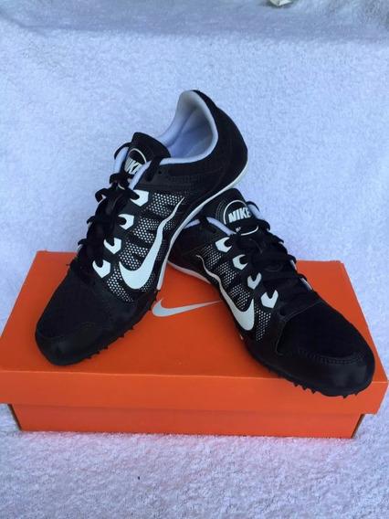 Zapatillas De Atletismo C/clavos.blan/negra Consultar Talle