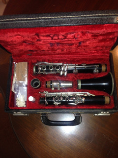 Clarinete Antiguo Original Normandy Raso-tone, De Madera.