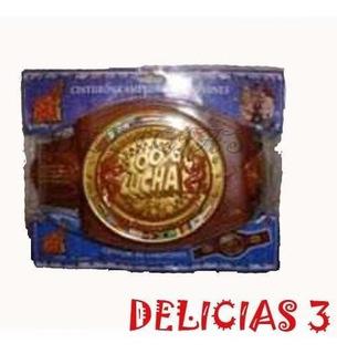 100 % Lucha Cinturon De Campeones Delicias3