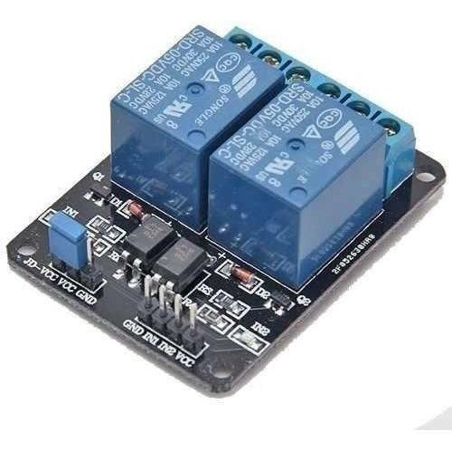 Rele Modulo 2 Canais 5v Arduino