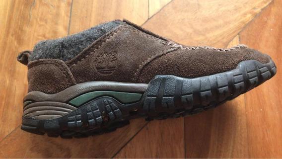 Zapatos De Abrigo Timberland Con Gamuza Y Piel Adentro