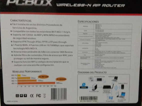Router Pcbox 150 Mbps