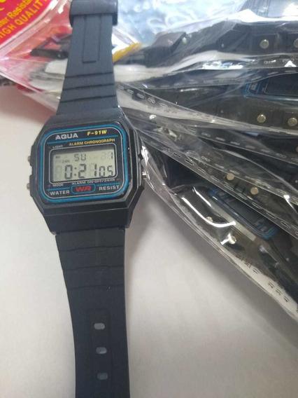 Relógio Aqua Masculina Kit Com 10 Atacado