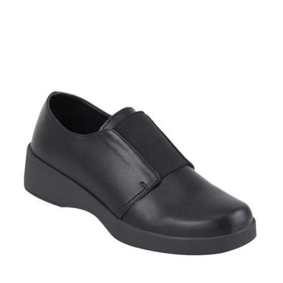 Zapato Confort Dama Shosh Negro 824897 Cft 1-19 J