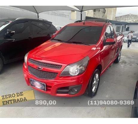 Chevrolet Montana Sport 1.4 (flex) 2012 Zero De Entrada