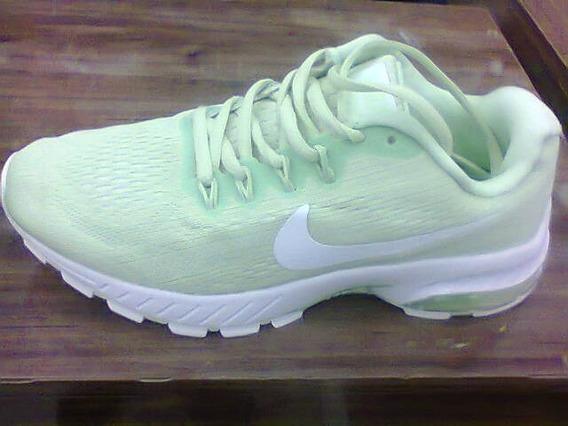 Tenis Nike Air Max Motion Verde Agua E Branco Nº35 Original