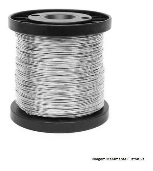 Rolo De Arame Alumínio 1,20mm 100m P/ Cercas Elétricas