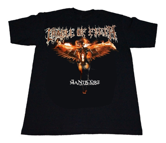 Camiseta Cradle Of Filth Importada Rock Activity Talla L
