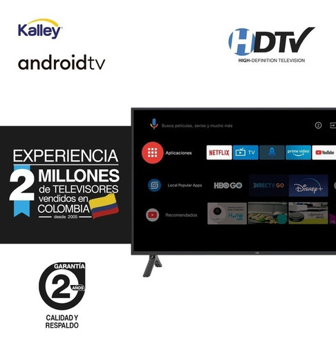 Imagen 1 de 2 de Tv Kalley 39  Pulgadas 99 Cm K-atv39hd Led Smart Tv  Android