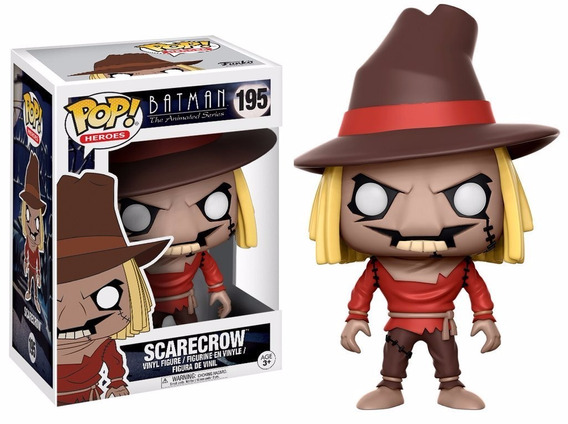 Pop! Funko Espantalho / Batman The Animated Series Scarecrow