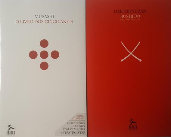 Bushido + O Livro Dos Cinco Anéis - Kit 2 Livros Frete 9