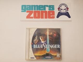 Blue Stinger Falta Contra Portada Dreamcast Gamerzone Ags