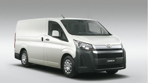 Toyota Hiace Furgon L1 H1 2,8 Tdi 6at 3a 4 Ptas En Stock