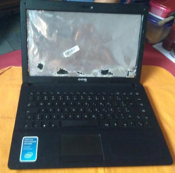 Carcaça Notebook Cce Win M300s Completa
