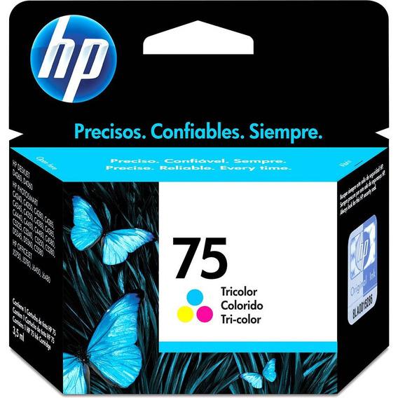 Cartucho Hp 75 Color 3,5ml - Cb337wb