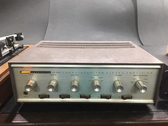 Amplificador Integrado Lafayette La248 Transistores Germânio