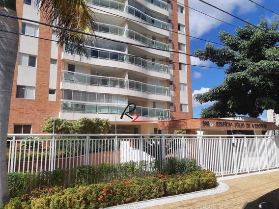 Apartamento A Venda, Condomínio Edifício Júlio De Mesquita, Taquaral, Campinas. - Ap0689