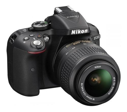 Kit Nikon D5300 18-55mm + Bolsa (menos De 4k Cliques)
