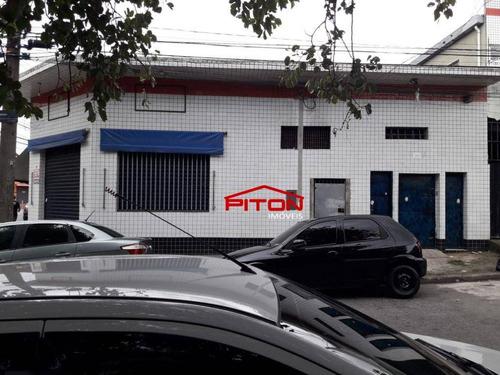 Salão Para Alugar, 80 M² Por R$ 2.500,00/mês - Vila Nova Curuçá - São Paulo/sp - Sl0063