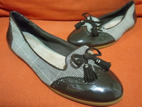 Zapatos Flats Charol Tela Sperry Top Sider Harper No.26 Dama