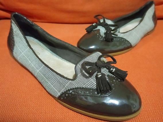 Zapatos Flats Charol Tela Sperry Top Sider Harper No.26 Dama