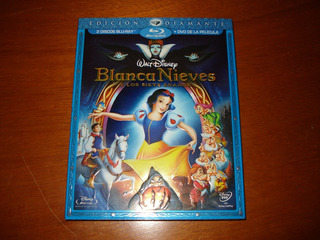 Blanca Nieves (3 Discos, Blu-ray + Dvd, Diamante), Nueva