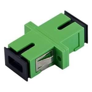 Adaptador Optico Sc-apc Sm Simplex Verde Pacote 2000pç
