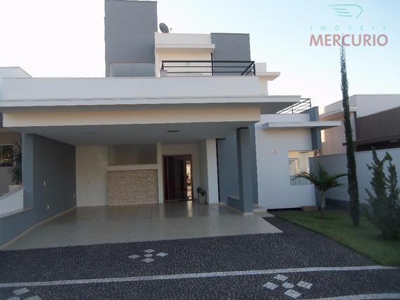 Casa Com 3 Dormitórios À Venda, 256 M² Por R$ 820.000,00 - Quinta Ranieri Green - Bauru/sp - Ca1931
