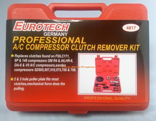 Kit Extractor De Embrague De Aire Acondicionado Eurotech