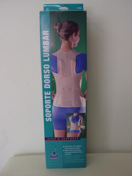 Faja Soporte Dorso Lumbar Espalda Oppo Unisex
