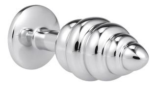 Enchufes Anales Espirales Cuentas De Metal A Tope Juguetes S