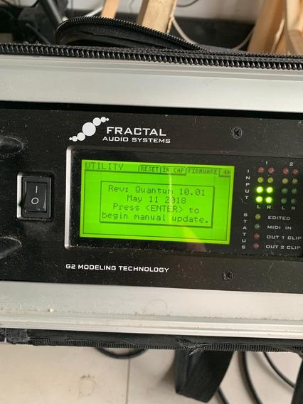 Fractal Axe Fx2 +fcb 1010+compressor Tampa +energia Gemini