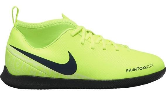 Chuteira Futsal Nike Phantom Vision Club Infantil Original