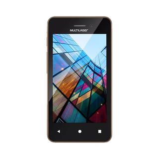 Smartphone Multilaser Ms40s Preto/dourado 4 Câmera 2 Mp + 5