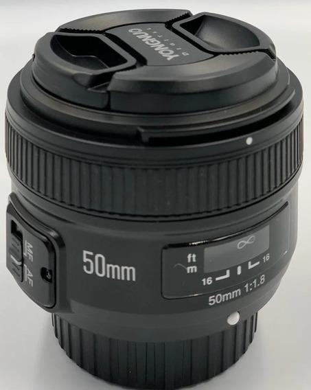 Lente Yongnuo Yn50mm F1.8n Para Nikon B3