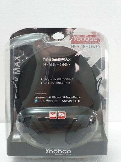 Audifonos De Alta Fidelidad Yoobao Yb-550k Max