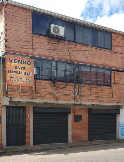 Edificio Comercial De 4 Niveles.