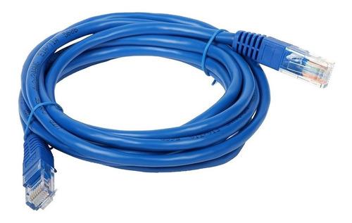 Cable Red Utp Rj45 1.2 Mts Metros Categoria 5e